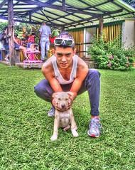 PIPE Y CONAN (juankos810) Tags: pitbull amstaf mascota dog
