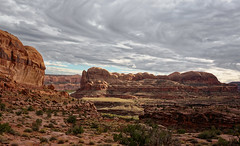 clearing (rovingmagpie) Tags: utah moab goldbarcanyon coloradoriver fb2017 amasaback clearing clouds sunlit