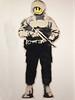 Dali Banksy exhibition Amsterdam (Marco Braun) Tags: graffiti walart streetart amsterdam 2017 exhibition banksy schwarz black noire weiss white blanche monalisa dali pink hollandnetherlandniederlandpaysbas