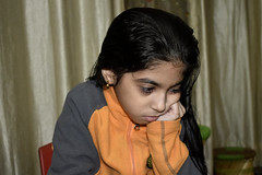 _DSC0009 (vireshwali) Tags: girl birthday child childhood daughter education girls home indoor kid knowledge learn learning leisure literature little person portrait pupil read reading small story student study young nikon d5600 india gurgaon haryana littlegirl cookies playtime friends pals bestie