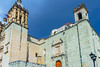 Oaxaca, Mexico (dalecruse) Tags: oaxaca oaxacamexico mexico mx church churches outdoors outdoor outside sky blue skyblue bluesky event events history historic street streets streetscape streetphoto cathedral cathedrals flickr lightroom