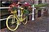Por los canales de Delft (Holanda) (salvador g de miguel) Tags: bicicleta bike canales holanda paisesbajos delft