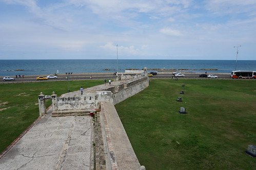 """Part of the 11 Kilometers of Defensive Walls that Protect Old Town Cartagena. • <a style=""""font-size:0.8em;"""" href=""""http://www.flickr.com/photos/28558260@N04/38100157754/"""" target=""""_blank"""">View on Flickr</a>"""
