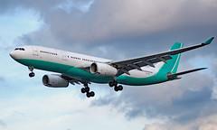 CS-TFZ - Airbus A330-243 - LHR (Seán Noel O'Connell) Tags: hifly cstfz airbus a330243 a330 a332 elal heathrowairport lhr egll tlv llbg 27r ly315 ely315
