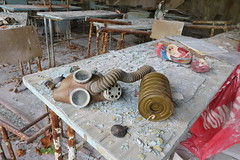 Pripyat School 2 (scrappy nw) Tags: pripyat chernobyl chernobyldisaster school ukraine classroom gasmask abandoned scrappynw scrappy derelict decay forgotten canon canon750d urbex ue urbanexploration urbanexploring