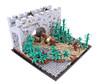 Kahstu Gate (Gareth Gidman) Tags: lego ccc castle asian gate forest bamboo wall medieval