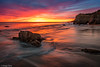Beach Twilight, El Madador (Greg Clure Photography) Tags: photo california workshop beach southern sunset elmatador monica malibu image tour mountains national recreation santa area