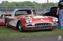 Meaner stance (shuffdad) Tags: dropped vette corvette chevy chevrolet custom cars car show kentucky nikon