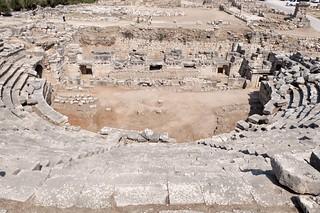 Arène de la cité antique de Xanthos, Turquie