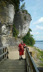 8/20/17 - Cave-In-Rock, IL state park (CubMelodic23) Tags: august 2017 caveinrockil vacation me dave selfportrait caveinrockstatepark