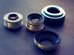 Argus C3 Lenses and E-Mount Adapter (rolandmks7) Tags: sonynex5n lens lenses cintar adapter argus ennawerk sandmar