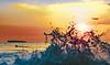 Makena Beach Sunset Swell (r1aviator) Tags: makenabeach bigbeach maui hi