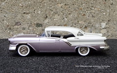 1957 Oldsmobile Super 88 Holiday 4dr Hardtop (JCarnutz) Tags: 143scale diecast brooklin whitemetal 1957 oldsmobile super88 holiday