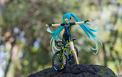 In balance with nature (zir0photo) Tags: stilllife figma vocaloid mikuhatsune green