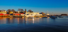 Afternoon glow, Camden Maine. (bdnils) Tags: newengland boats coast landscape seascape camden maine afternoon goldenhour