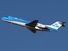 KLM Cityhopper | Fokker 70 | PH-KZM (Bradley's Aviation Photography) Tags: fokker f70 fokker70 phkzm klm klmcityhopper nwi norwichairport egsh norwich canon70d