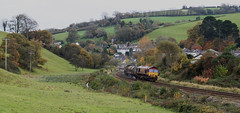 Shades of Autumn (Stapleton Road) Tags: rhtt class66 66127 rattery totnes