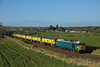 Yanwath, Cumbria (DieselDude321) Tags: 50008 class 50 thunderer 56 56303 dcr 4z03 1234 carlisle derby rtc yanwath penrith cumbria loram uk ltd rail grinder