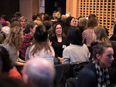 Creative Mornings Vancouver November 2017 with John Fluevog (CreativeMornings/Vancouver) Tags: cmvan britishcolumbia cmdeath canada creativemornings gvrd johnfluevog sfuwoodwards vancouver where
