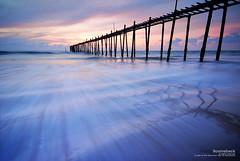 l2.1 (pattana92392) Tags: seawave sea longexposure sunset coast bridge sky