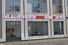 Radio Stations, Binghamton, NY (Robby Virus) Tags: binghamton newyork ny upstate radio stations sign signage waal whwk wwyl wnbf wyos call letters