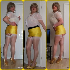 Here's hoping today is your kind of day xx (janegeetgirl2) Tags: transvestite crossdresser crossdressing tgirl tv ts stockings heels garters nylons glamour office mini skirt yellow lycra stilettos fully fashioned high gold vintage seams white suspenders jane gee chiffon legs breastforms