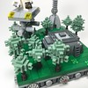 Micro Endor forest (elemental_lego) Tags: lego starwars endor forest tree scene micro tiny modular photo space scifi art photography nature spaceship