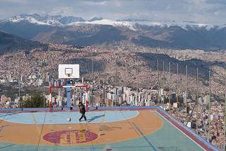 Sur les hauteurs de La Paz