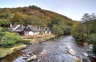 The River Teign at Fingle Bridge, Dartmoor