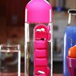 MasterCool Pill Organizer 600 ml Bottle  (Pack of 1, Pink) thumbnail