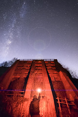 Raiders Of the Lost Kiln (aevo69) Tags: peak district star scape milky way night structure adventure color explore flare andy evans andyevanscreations