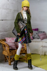 Schoolgirl ooak outfit (dollsalive) Tags: fashionroyalty fashiondoll fashionroyaltydoll dollfashion dollshoes dolloutfit poppyparker