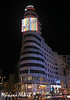 Edificio Carrión-Capitol (Mariano Alvaro) Tags: edificio carrion capitol madrid gran via noche luz luces