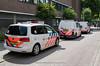 Dutch dog section Volkswagens (Dutch emergency photos) Tags: politie police polizei politi polis volkswagen touran transporter t5 5 dutch nederland nederlands nederlandse hilversum gooi en vechtstreek honden geleiders hondengeleider hondengeleiders geleider dog section mounted 112 999 911 emergency k9 doog dogs gp118l vf167p