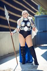 SP_68534-4 (Patcave) Tags: thor valkyrie norse god marvel comics marvelcosplay hammer throw superhero blonde mjolnir armor cape
