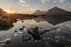 Vermilion Lakes (Mike_Y_Wong) Tags: canada banff britishcolumbia alberta vermilion lakes mount rundle reflection sunrise pacificnorthwest lake sunstar goldenhour