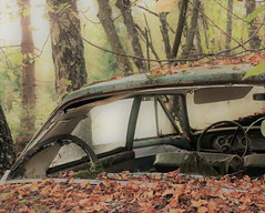 (Jonas.W.) Tags: abandoned forgotten car vehicle samsung nx300