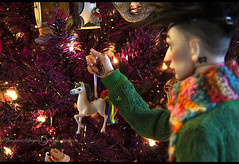John XMAS-3 (vampyre_angel13) Tags: bjd bjdhybrid bjdmod holidays christmas christmastree ringdoll ringdollk legitbjd