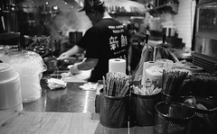 Very Fresh Noodles (triebensee) Tags: kodaktrix400 kodakd76 epsonv700 selfdeveloped blackandwhite film nikon fm2 28mm f28 series e