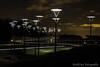Bicycle bridge by night. (Ronald Dubbeldam) Tags: zoetermeer bridges bicycle traffic fietsen brug lights verlichting