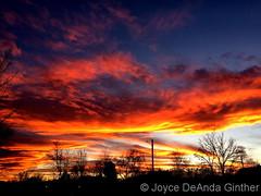 November 26, 2017 - Another amazing Colorado sunset. (Joyce DeAnda Ginther)