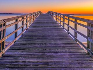 Yorktown Pier Sunrise Nov 29 2017-3