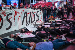 4N3A5732 (WorkingFamiliesParty) Tags: actupnewyork act up newyork ny protest hiv aids timessquare action community decriminalize international problem people united