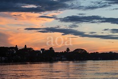 7D9_1118 (bandashing) Tags: river surma dusk sunset magrib sky skyline landscape water monsoon sylhet manchester england bangladesh bandashing aoa socialdocumentary akhtarowaisahmed