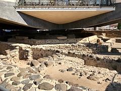 8 - Karafnaum - Szent Péter háza alapjai / Kafarnaum - Základy Domu sv. Petra