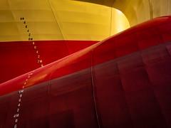 Ship hull (Philippe POUVREAU) Tags: navire ship coque level niveau bateau carénage drydock saintnazaire france 2017 markings draft port harbour harbor loireatlantique sdc