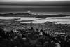 Sunset over San Francisco (Juan Pablo J.) Tags: bayarea blackandwhitephotography blackandwhite monochrome sanfrancisco california cityscape canon5dmkii canon24105mmf4l