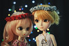 """""""When they turn down the lights..."""" (♪Bell♫) Tags: pullip alice du jardin taeyang romantic mad hatter susanne rosenthal roy darden de petit groove dolls love"""