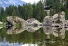 Val d'Aosta - Valle di Champdepraz, lago della Servaz, riflessioni ;-) (mariagraziaschiapparelli) Tags: valdaosta valledichampdepraz parcodelmontavic montavic lagodellaservaz montagna mountain avic camminata escursionismo allegrisinasceosidiventa estate lago