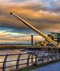 River Usk, Newport (Laura Drury) Tags: newport riverfront urban wales river suspension usk
